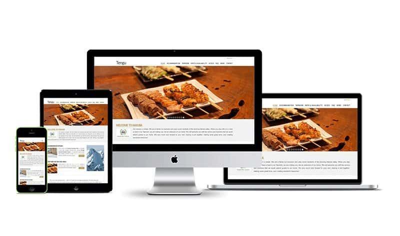 tengu properties website versions
