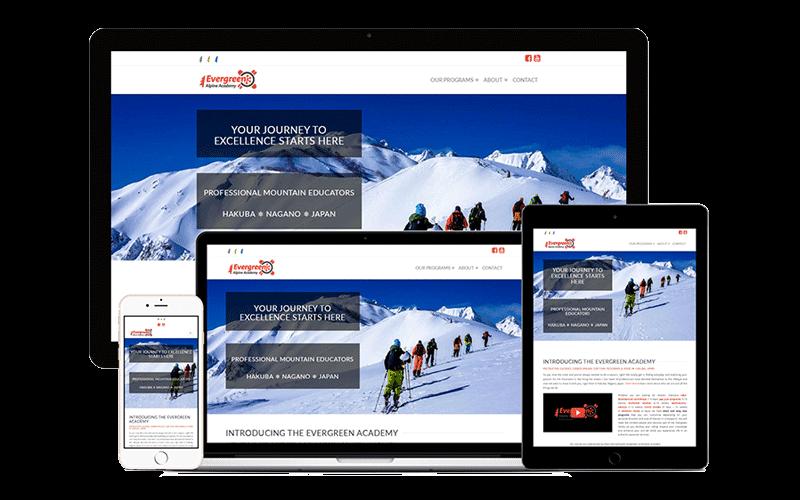 evergreen alpine academy website