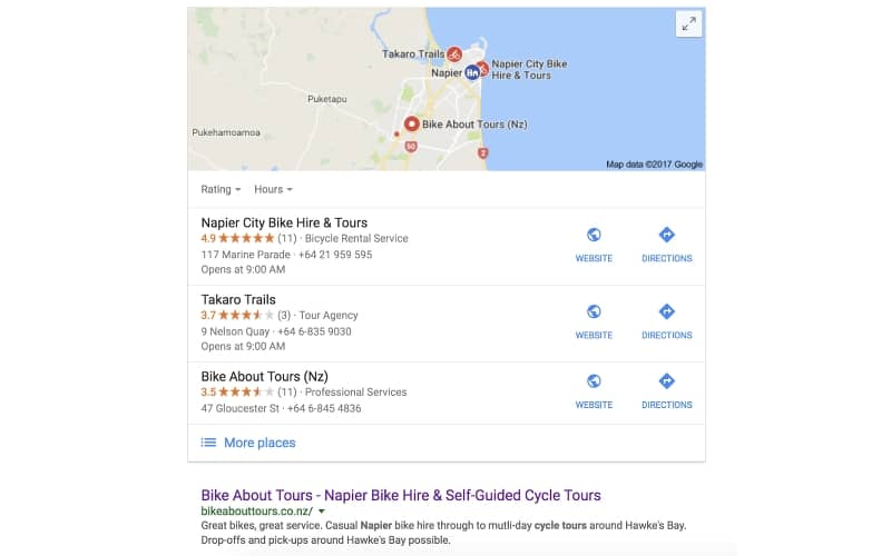 tourism seo for bike about tours