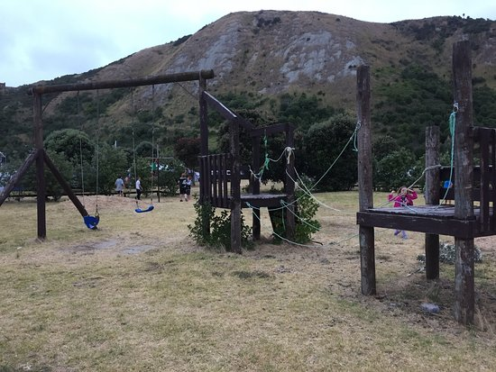 mahia campsite kids playground