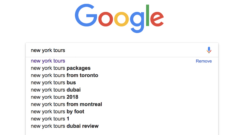 rank top in google for new york tours